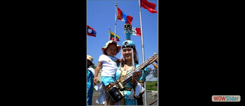 mongolian mother w child_flags